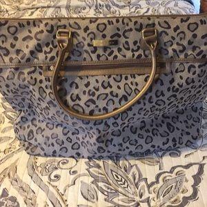 1c24a6987a30 Anne Klein Bags - Anne Klein Leopard Print Luggage Bag